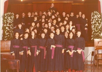 1982 - Turma de Alunas