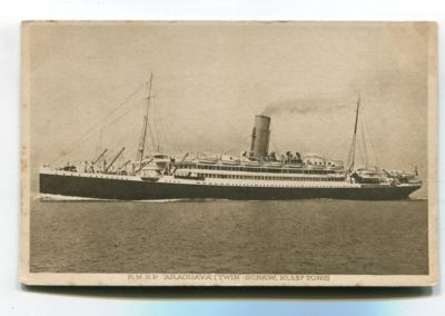 1914 - Chegada das Irmãs no Navio Araguaya