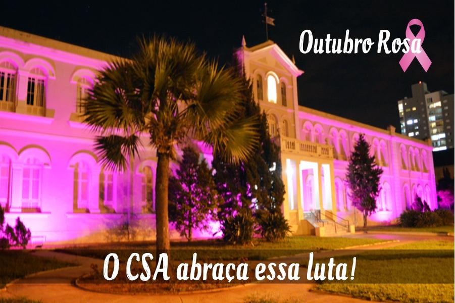 Outubro Rosa. O CSA abraça essa luta!