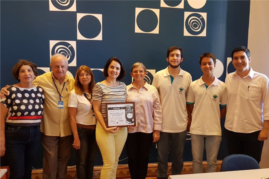 CSA conquista o prêmio Top Of Mind na categoria Escola Particular