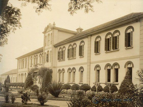 Antiga foto do Colégio Santo André
